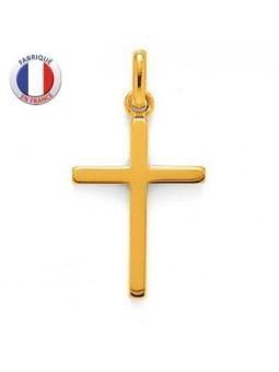 Pendentif religieux - Croix en plaqué or