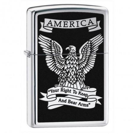 """Zippo Aigle """"America"""""""