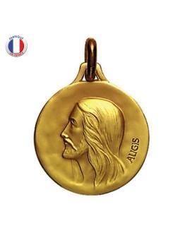 Médaille Christ - Augis 18 carats