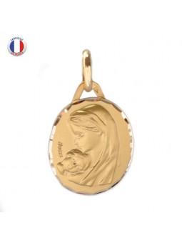 Médaille Augis - Vierge et son enfant