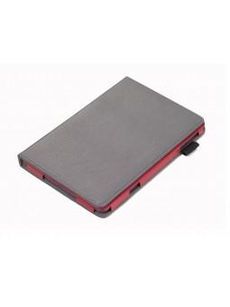 Etui repliable Ipad mini - gris/rouge
