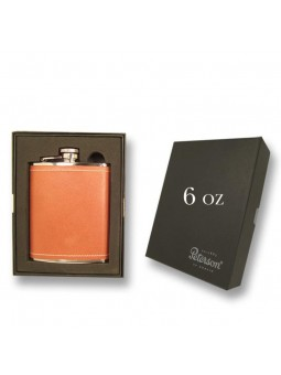 Flasque Peterson cuir 170 ml