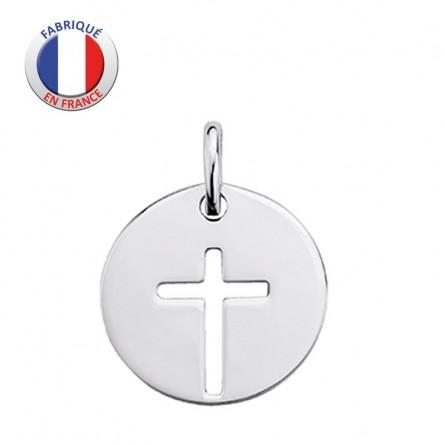 Médaille Croix  - GL ALTESSE - Argent rhodié