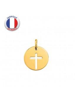 Médaille Croix  - GL ALTESSE - Plaqué Or