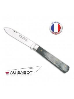 Couteau Le Pradel - AU SABOT - Manche corne AC 10,5 cm - Lame carbone
