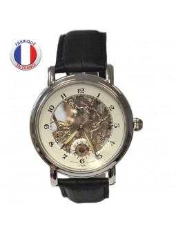 Montre bracelet à squelette mécanique - LAVAL 1878