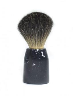 Blaireau Plisson - Noir moucheté