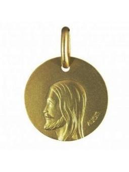 Médaille Christ - Augis 9 carats