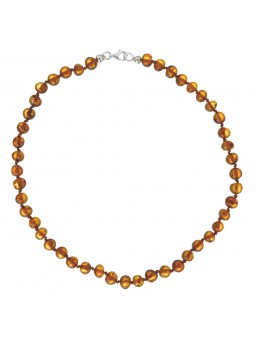 Collier enfant ambre