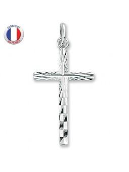 Croix chrétienne en argent