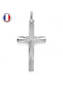 Croix religieuse en argent