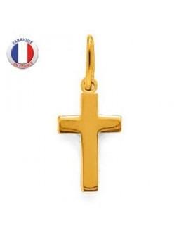Petite croix en palqué or