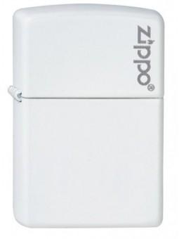 Zippo Blanc  avec logo- Personnalisation Recto-Verso