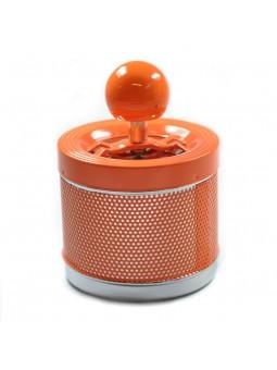 Cendrier à poussoir - Orange