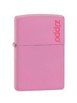Zippo rose avec Logo Zippo - Personnalisation Recto-Verso