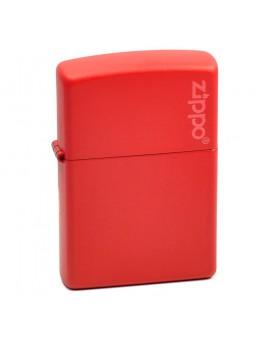 Zippo Rouge avec logo - Personnalisation Recto-Verso