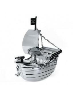 Tirelire bateau pirate