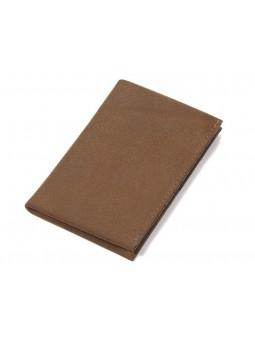 Porte-cartes de visite S-GRIP marron