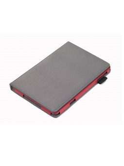 Etui repliable Ipad mini - gris/rouge