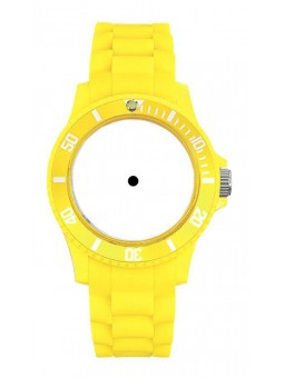 Montre à personnaliser - MINI FREEZE JAUNE