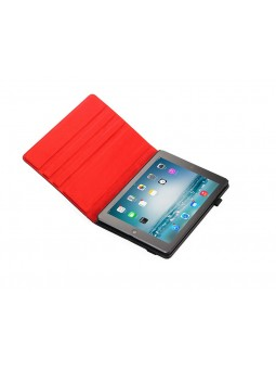 Etui repliable Ipad air - rouge/noir