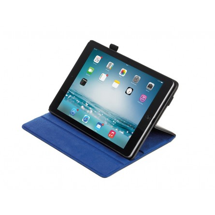 Etui repliable Ipad air - bleu/noir