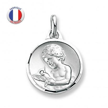 Médaille Ange avec Colombe