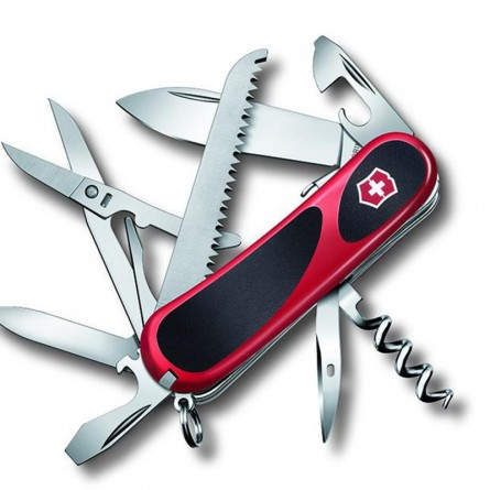 Couteau Suisse - VICTORINOX EVOGRIP - S557 rouge