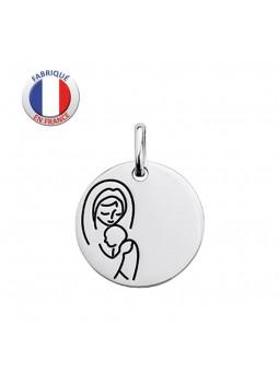 Médaille argent - GL ALTESSE - La Vierge et l'Enfant