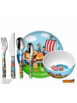 Coffret Couvert 6 pièces - WICKIE - Bol et assiettes - WMF