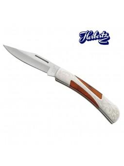 Couteau Pacca / métal - Herbertz - Motif floral