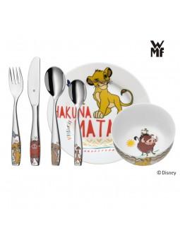 Couverts enfant Le Roi Lion - WMF - Assiette et bol en porcelaine
