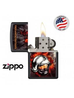 Briquet Pompiers - ZIPPO Tempête