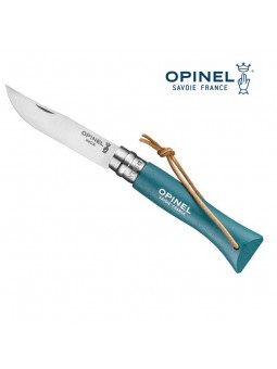 OPINEL N°6 turquoise - Lien baroudeur