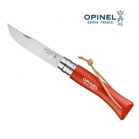 OPINEL N°7 orange - Lien baroudeur