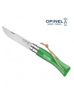 OPINEL N°7 vert prairie - Lien baroudeur