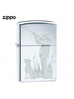 Briquet tempête - ZIPPO - Le chasseur et son chien