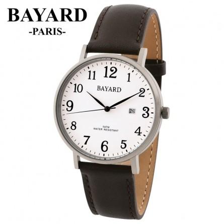 Montre bracelet Titane mat - BAYARD PARIS - Quartz dato
