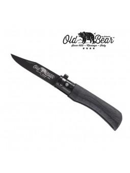 Couteau OLD BEAR XS - Virole noire - Bois d'ayous
