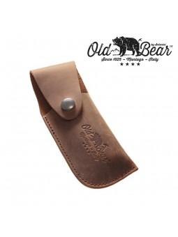 Etui cuir graissé - Couteau Old Bear L/XL