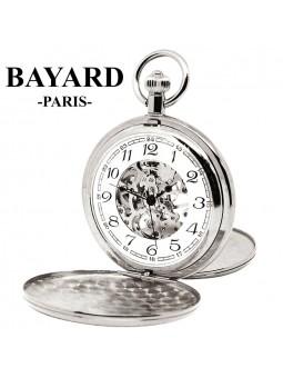Montre de poche Bayard - Mouvement mécanique - Chiffres arabes