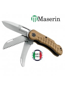Couteau de chasse 3 pièces - MASERIN JAGER - Olivier