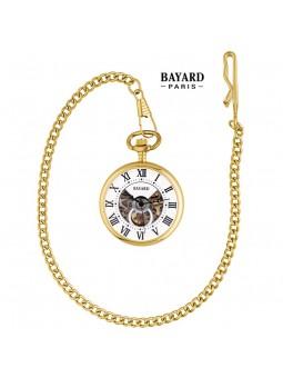 Montre de poche Laiton doré - BAYARD - Mouvement mécanique