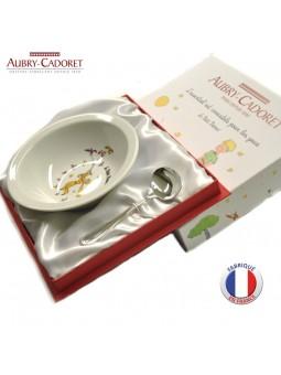 Assiette et Panadière GODRON  - Petit Prince - Aubry Cadoret