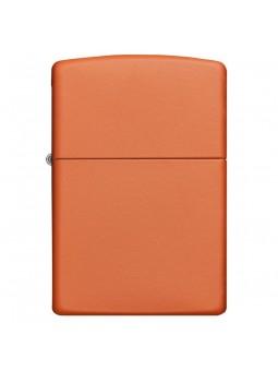 Briquet Orange Matte sans Logo