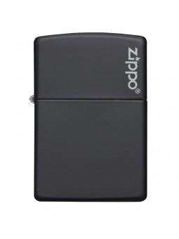 Briquet Black Matte - Logo Zippo