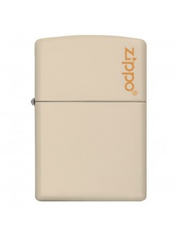 Briquet Zippo Logo Cream Matte