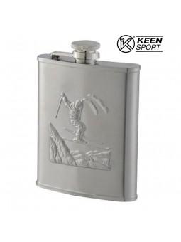 Flasque motif Skieur - Keen Sport - 180 ml