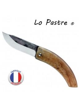 """Couteau """"LO PASTRE"""" Corne de bélier - Lame carbone"""
