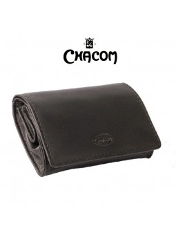 Blague de poche CHACOM - Cuir Noir